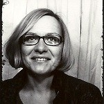 Schwarzweißfoto von Marlene
